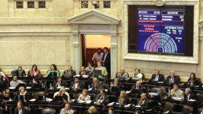 Diputados dio media sanción a la ley que limita la responsabilidad del Estado