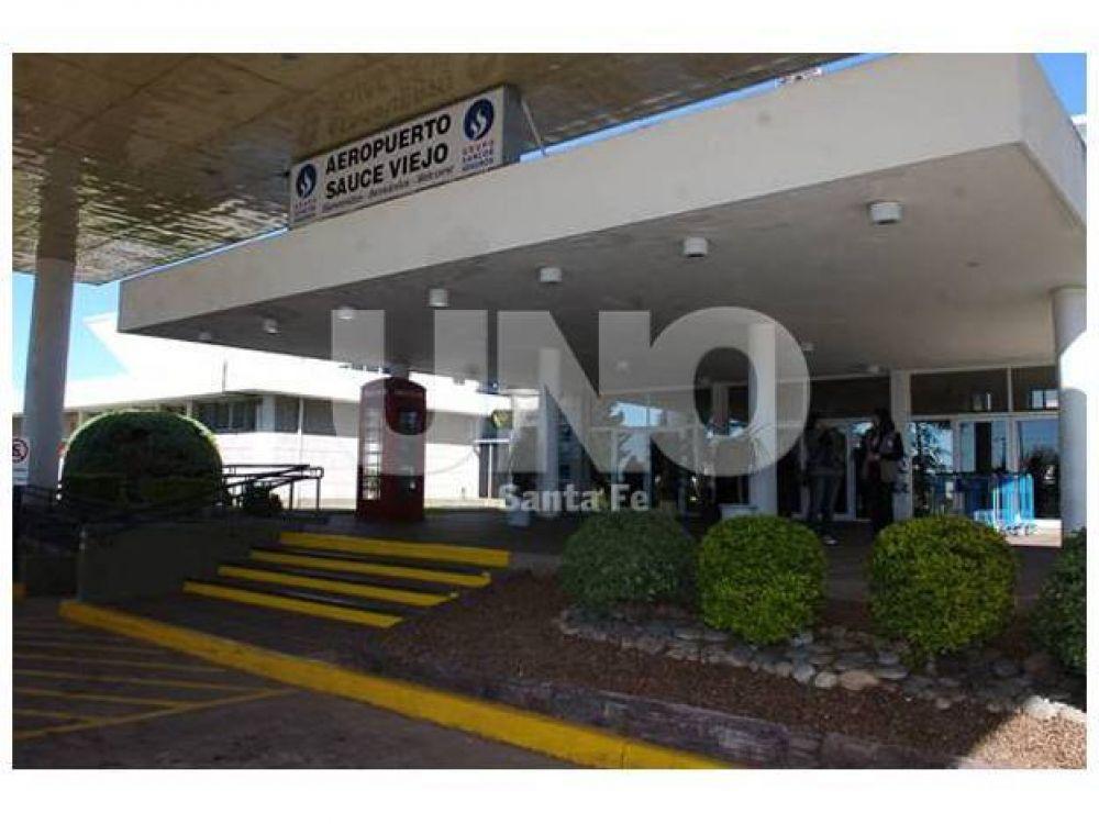 Aeropuerto de Sauce Viejo: trabajadores realizarán un paro por 48 horas