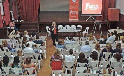 Balagué y Bifarello participaron del espacio de socialización de experiencias del plan Vuelvo a Estudiar