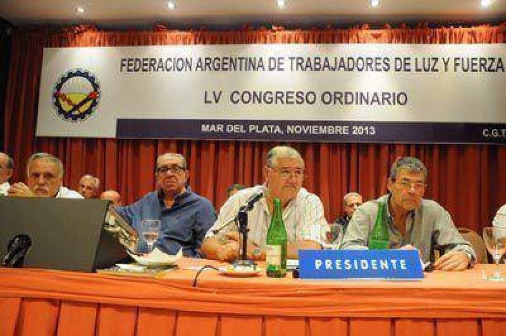 Ieraci defendió al Gobierno y al actual modelo sindical