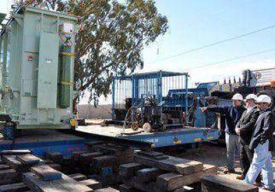 Comenzó la instalación del transformador para Plottier