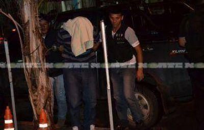 Bajo fuerte custodia policial trasladaron al c�mplice del crimen de Tatiana