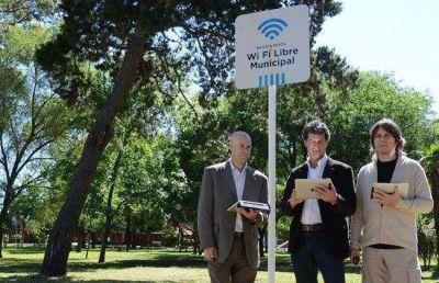 El WiFi gratuito llegó a 30 espacios públicos