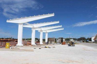 Las obras de la nueva terminal de ómnibus de Santa Clara están en marcha