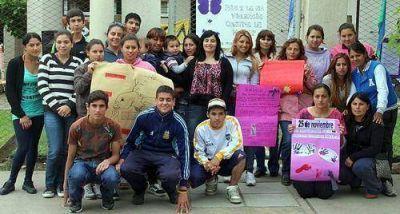 Se realizó una jornada contra la violencia de género en Lobería