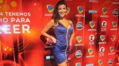 La primera salida pública de Andrea Rincón, tras su internación