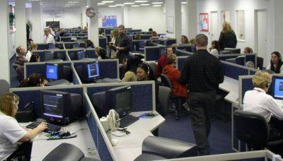 """Call centers"": 7.000 empleos perdidos"