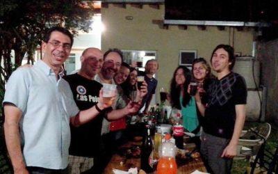 Quinto aniversario de la Asociación de Periodistas