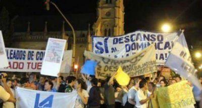 Marcha de mercantiles por el descanso dominical