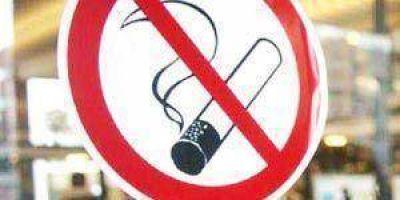 Avanza plan para ambientes libres de humo