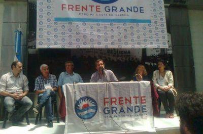 El chaqueño Daniel San Cristóbal es el nuevo presidente del Frente Grande