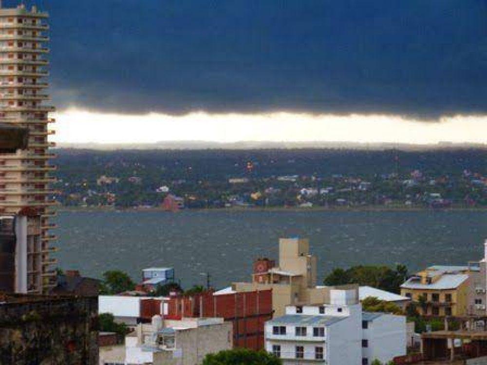 Temporal dejó más de 200 familias afectadas en Posadas y Garupá