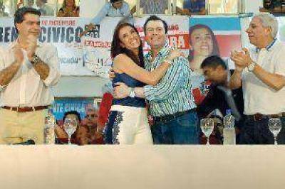 Rotundo triunfo de Claudia Zamora