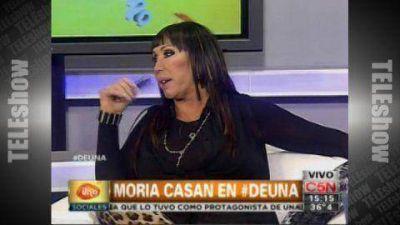 """Moria Casán: """"El Bailando ya fue en mi vida"""""""