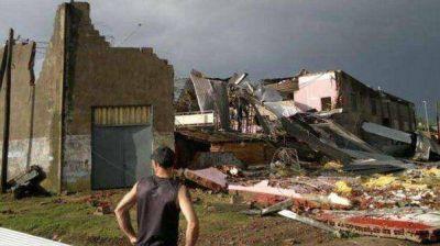 Desastre en Chivilcoy tras el paso de un fuerte tornado