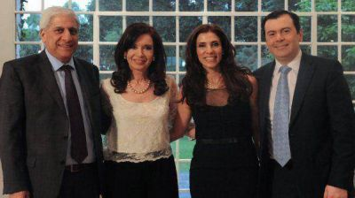 Cristina recibió a la gobernadora electa de Santiago del Estero