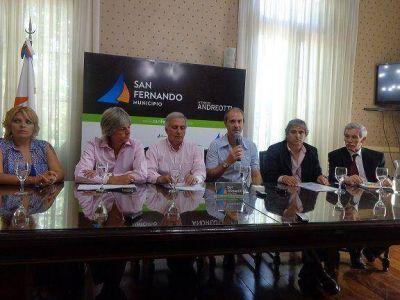 San Fernando dio una conferencia relacionada a la toma de viviendas