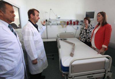 El Hospital Piñero renueva su infraestructura de Neonatología