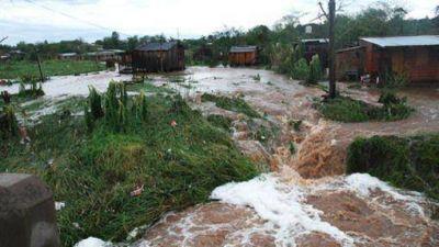 Temporal: Sigue la asistencia a más de 200 familias damnificadas de Garupá y en Posadas