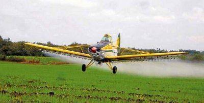 Monsanto asegura que no fumiga en el Valle del Conlara