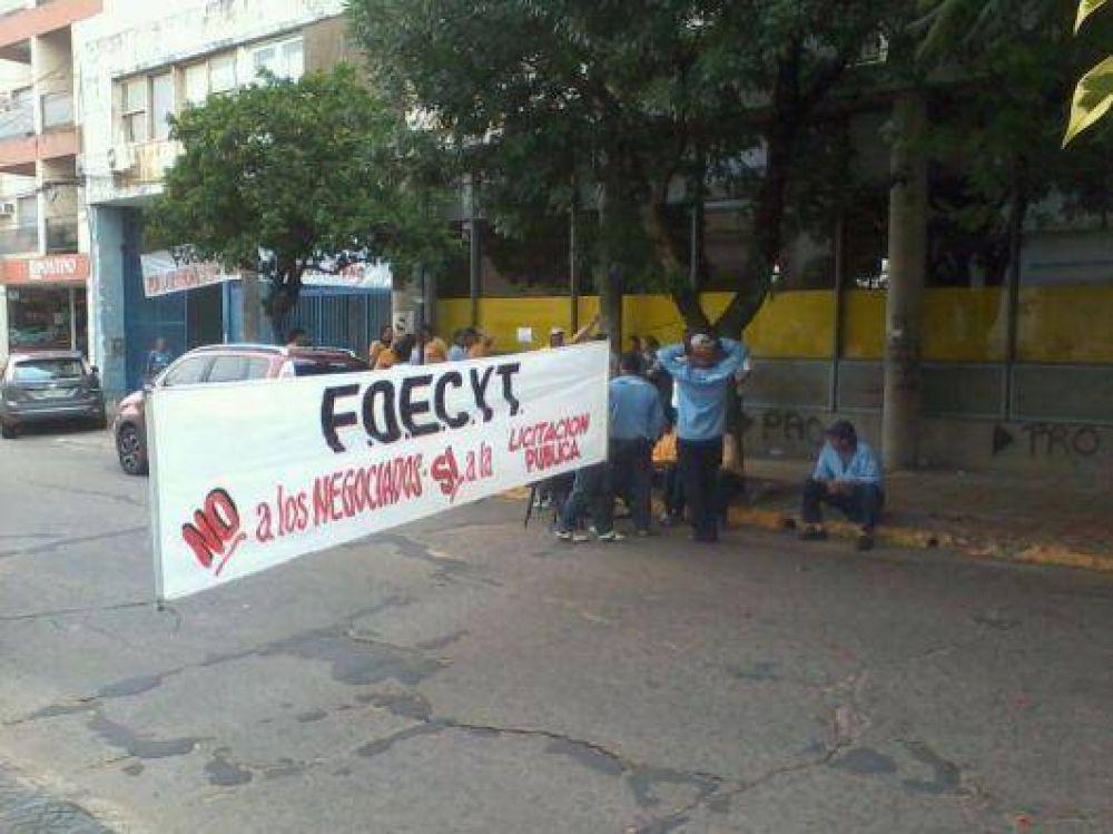 Nuevo piquete de trabajadores de Correo Argentino