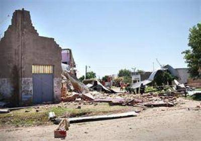 Chivilcoy se recupera luego de la destrucción