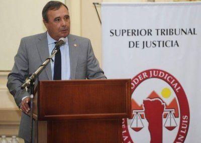 El presidente del STJ justificó a Gregoraschuk