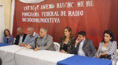 Habilitan radio socio-comunitaria, la primera a partir de la vigencia de la nueva Ley de Medios