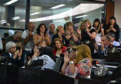 En Sesión Especial despidieron a los concejales que finalizan su mandato