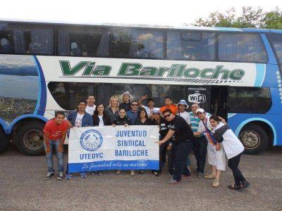 Capacitaron a jóvenes militantes gremiales de Bariloche en Córdoba