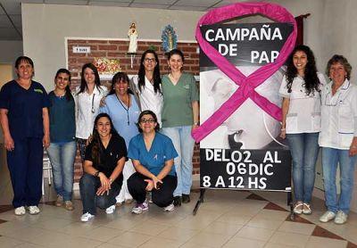 El viernes finaliza la campaña de controles contra el cáncer de útero