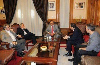 El Gobernador se reunió con representantes de EDET