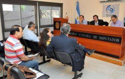 Vaz Torres explicó el proyecto de Presupuesto 2014 ante Diputados