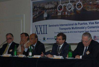 Se realizó el XXIII Seminario Internacional de Puertos en Buenos Aires