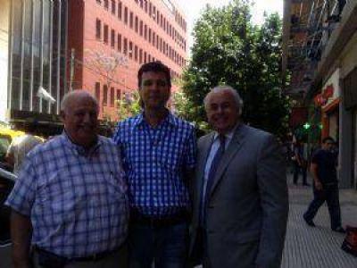 Otra emocionante visita para el gobernador