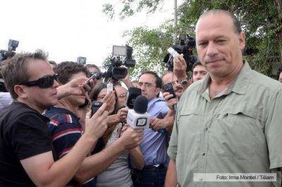 El secretario de Seguridad lleg� a C�rdoba con 1.200 gendarmes y De la Sota agradeci� al Gobierno