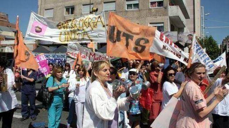 ATE, UTS y SEP siguen ocupando seis hospitales provinciales