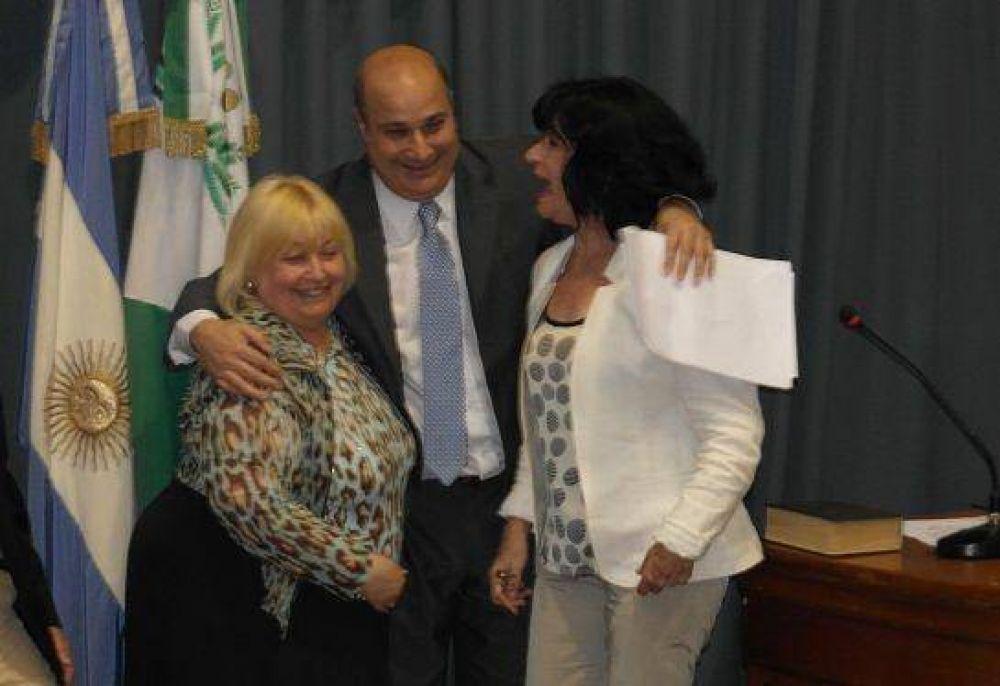 Juraron los concejales de San Isidro Castellano fue elegido presidente