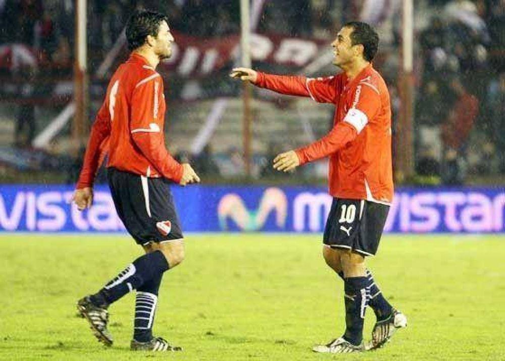 Independiente suavizó los reproches con una goleada