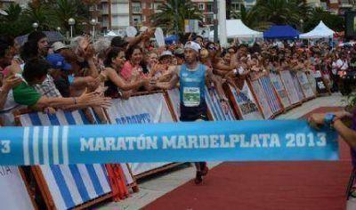 Mariano Mastromarino y Andrea Graciano ganaron el Maratón