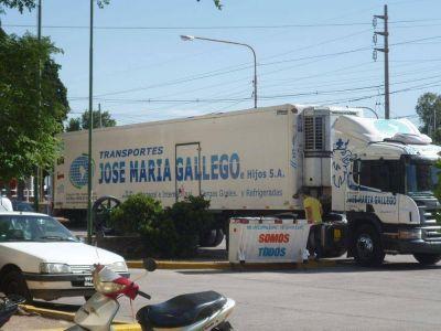 Bromatología intervino un camión con alimentos por corte de la cadena de frío