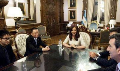 Argentina recibió a directivos de la empresa china CMEC por inversiones en el ferrocarril Belgrano Cargas