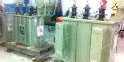 Energía: Reparán transformadores de luz