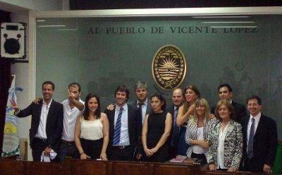 Juraron los ediles de Vicente López