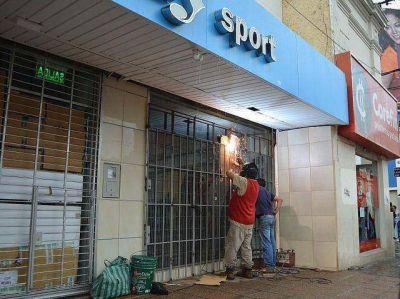 Empresarios repudian saqueos y piden programa de compensación por los daños