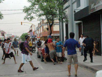 Saqueos y destrozos graves en San Pedro