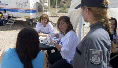 Distintos servicios de salud llegaron a la Cárcel de Mujeres de El Borbollón