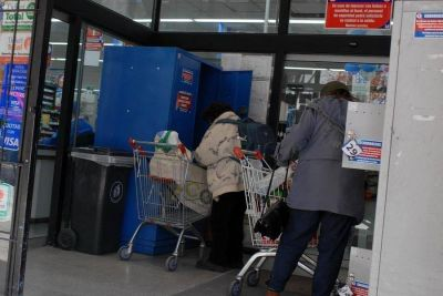 Dos supermercados proveer�n a beneficiarios de tickets