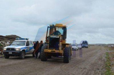 Ocupas desalojaron pacíficamente terrenos tomados en la zona de chacras