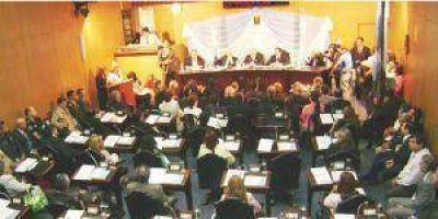 Sesión especial para la asunción de los legisladores electos